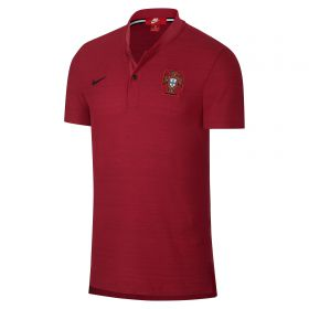 Portugal Authentic Grand Slam Franchise Polo - Red