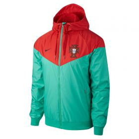 Portugal Authentic Woven Windrunner Jacket - Green