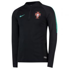 Portugal Squad Drill Top - Black