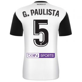 Valencia CF Home Shirt 2017-18 - Kids with G. Paulista 5 printing