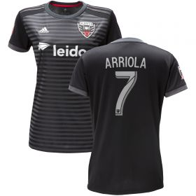 DC United Home Shirt 2018 - Womens with Arriola 7 printing