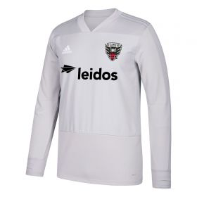 DC United Training Top - Long Sleeve - Dk Grey