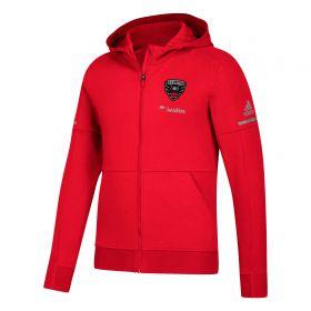 DC United Travel Jacket - Red