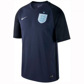 England Away Stadium Shirt 2017-18 with Sterling 7 printing