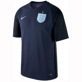 England Away Stadium Shirt 2017-18 with Vardy 11 printing