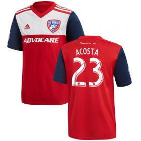 FC Dallas Home Shirt 2018 - Kids with Acosta 23 printing