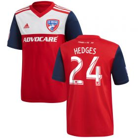 FC Dallas Home Shirt 2018 - Kids with Hedges 24 printing