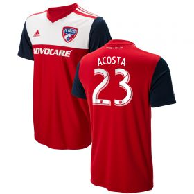FC Dallas Home Shirt 2018 with Acosta 23 printing