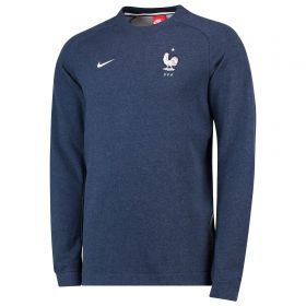 France Authentic Modern Crew Sweater - Navy