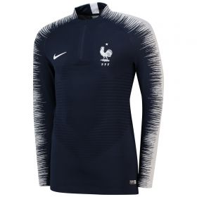 France Strike Vaporknit Drill Top - Navy