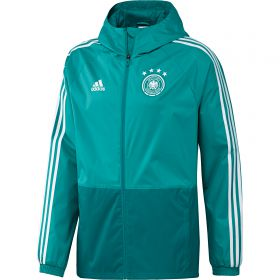 Germany Training Rain Jacket - Green