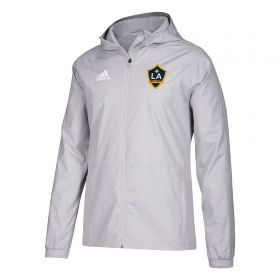 LA Galaxy Rain Jacket - Lt Grey