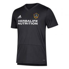 LA Galaxy Training Top - Dk Grey