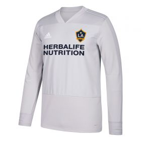LA Galaxy Training Top - Long Sleeve - Dk Grey