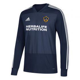 LA Galaxy Training Top - Long Sleeve - Navy
