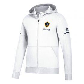 LA Galaxy Travel Jacket - White