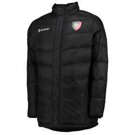 Leicester Tigers Quilted Jacket - Navy