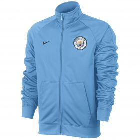 Manchester City Core Track Jacket - Light Blue