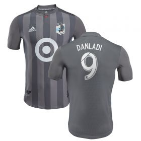 Minnesota United Authentic Home Shirt 2018 with Danladi 9 printing