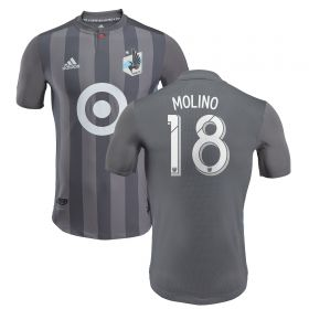Minnesota United Authentic Home Shirt 2018 with Molino 18 printing