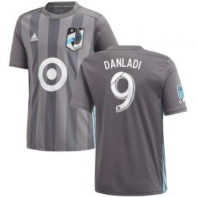 Minnesota United Home Shirt 2018 - Kids with Danladi 9 printing