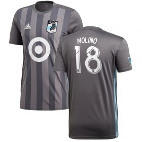 Minnesota United Home Shirt 2018 with Molino 18 printing