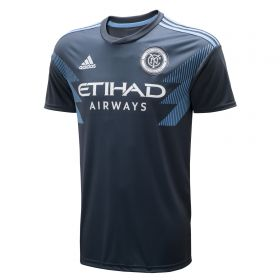 New York City FC Away Shirt 2018 with Awuah 14 printing