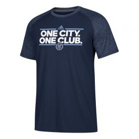 New York City FC Dassler Local T-Shirt - Navy