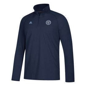 New York City FC LC Logo Set Fleece - Navy