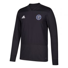 New York City FC Training Top - Long Sleeve - Dk Grey