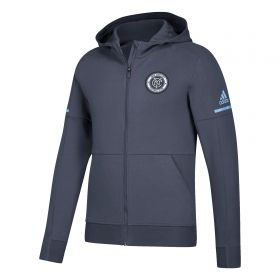 New York City FC Travel Jacket - Grey