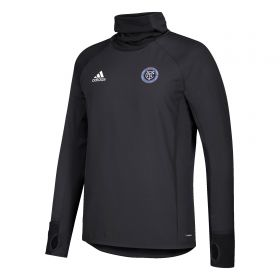New York City FC Warm Top - Black