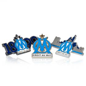 Olympique de Marseille Badge Set - 3 Pack