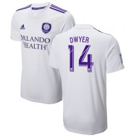 Orlando City SC Away Shirt 2018 with Dwyer 14 printing