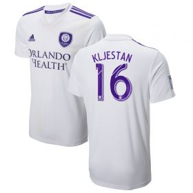Orlando City SC Away Shirt 2018 with Kljestan 16 printing
