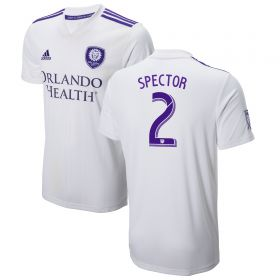 Orlando City SC Away Shirt 2018 with Spector 2 printing