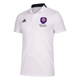 Orlando City SC Coaches Cotton Polo - White