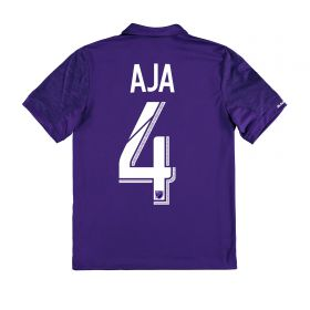 Orlando City SC Home Shirt 2017-18 - Kids with Aja 4 printing