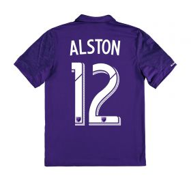 Orlando City SC Home Shirt 2017-18 - Kids with Alston 12 printing