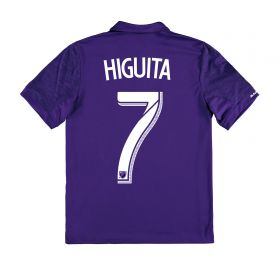 Orlando City SC Home Shirt 2017-18 - Kids with Higuita 7 printing