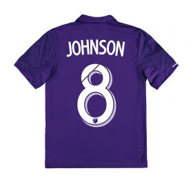Orlando City SC Home Shirt 2017-18 - Kids with Johnson 8 printing