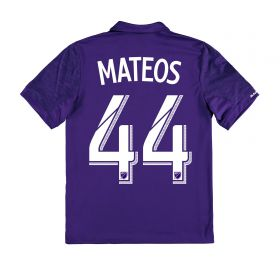 Orlando City SC Home Shirt 2017-18 - Kids with Mateos 44 printing