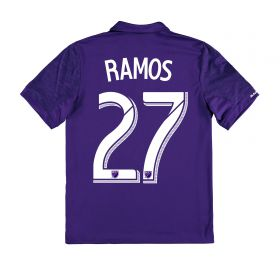 Orlando City SC Home Shirt 2017-18 - Kids with Ramos 27 printing