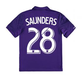 Orlando City SC Home Shirt 2017-18 - Kids with Saunders 28 printing