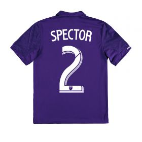 Orlando City SC Home Shirt 2017-18 - Kids with Spector 2 printing