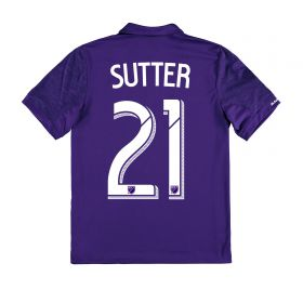 Orlando City SC Home Shirt 2017-18 - Kids with Sutter 21 printing