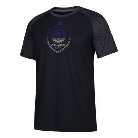 Orlando City SC Redirection Logo T-Shirt - Black