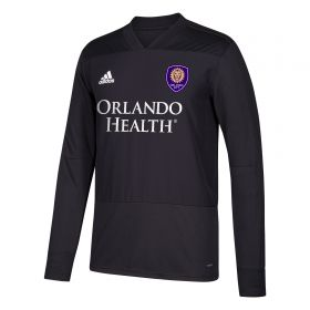 Orlando City SC Training Top - Long Sleeve - Dk Grey