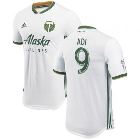 Portland Timbers Authentic Away Shirt 2018 with Mattocks 11 printing