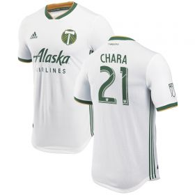 Portland Timbers Authentic Away Shirt 2018 with Ridgewell 24 printing